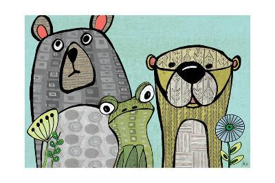 Bear, Frog and Otter