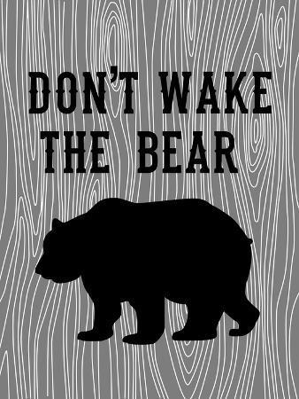 Don't Wake the Bear