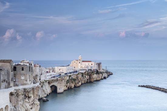 Classic Design Italia Foggia.Italy Italia Apulia Puglia Foggia District Gargano Vieste Old Town And Punta Di San Francesc