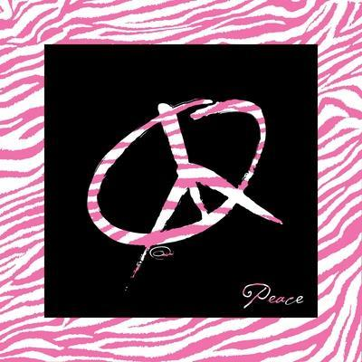 Peace Hot Pink