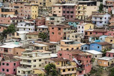 Las Penas barrio, historic centre on the hill of Cerro Santa Ana, Guayaquil, Ecuador, South America