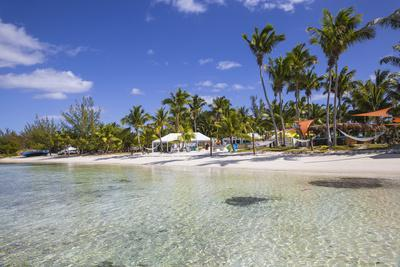 Sunset Beach, Great Guana Cay, Abaco Islands, Bahamas, West Indies, Central America