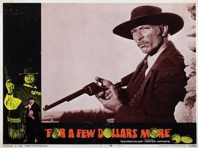 For a Few Dollars More, (AKA Per Qualche Dollaro in Piu), Lee Van Cleef, 1965