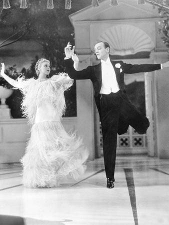Top Hat, L-R: Ginger Rogers, Fred Astaire, 1935