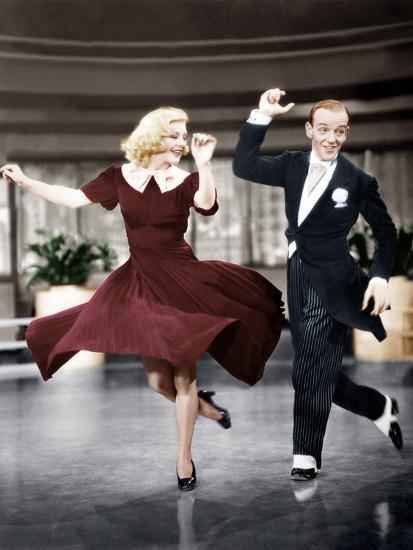 Swing Time L R Ginger Rogers Fred Astaire 1936 Photo Allposters Com
