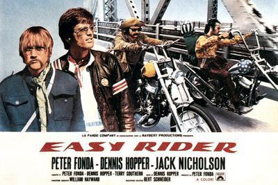 Easy Rider, Luke Askew (Far Left), Peter Fonda, Dennis Hopper, 1969