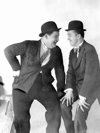 Stan Laurel and Oliver Hardy, CA 1930s