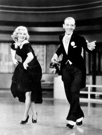 Swing Time, L-R: Ginger Rogers, Fred Astaire, 1936