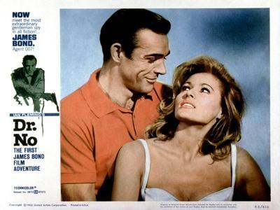 Dr No, Sean Connery, Ursula Andress, 1962