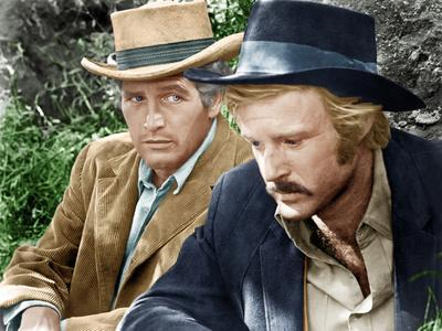 Butch CAssidy and the Sundance Kid, L-R: Paul Newman, Robert Redford, 1969