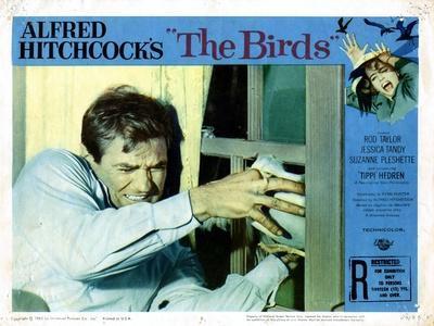 The Birds, Rod Taylor, 1963