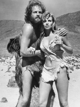 One Million Years BC, L-R, John Richardson, Raquel Welch, 1966