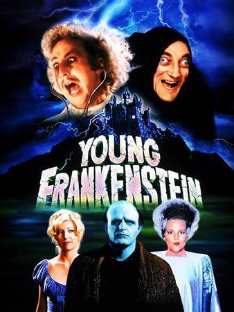 Young Frankenstein, Gene Wilder, Marty Feldman, Teri Garr, Peter Boyle, Madeline Kahn, 1974