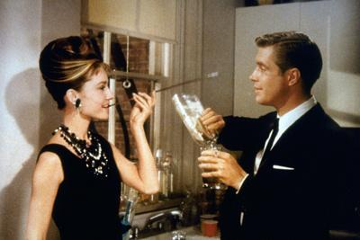 Breakfast at Tiffany's, (From Left): Audrey Hepburn, George Peppard, 1961
