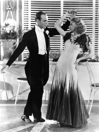 The Gay Divorcee, Fred Astaire, Ginger Rogers, in 'The Continental' Number, 1934
