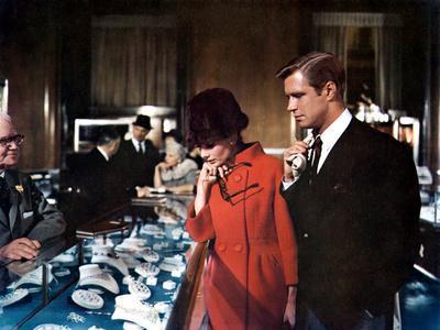 Breakfast at Tiffany's, Audrey Hepburn, George Peppard, 1961