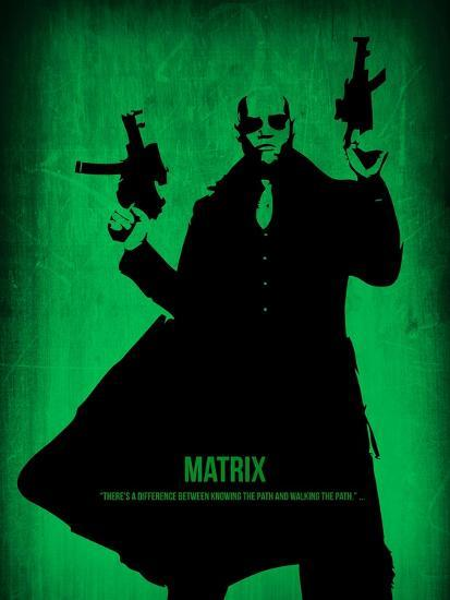 The Matrix Morpheus Poster By Naxart At Allposters Com