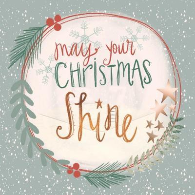 Christmas Shine Snow Globe