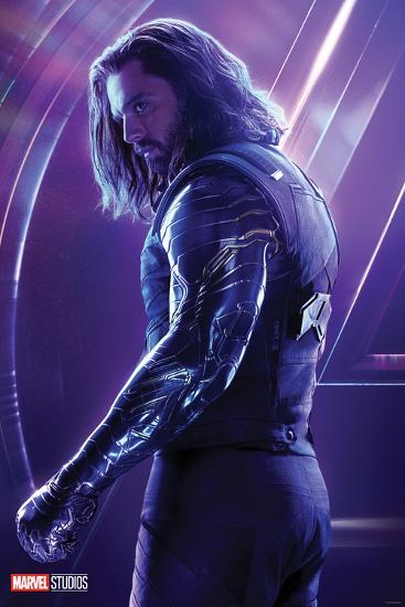 Avengers Infinity War Bucky Barnes Poster At Allposters Com