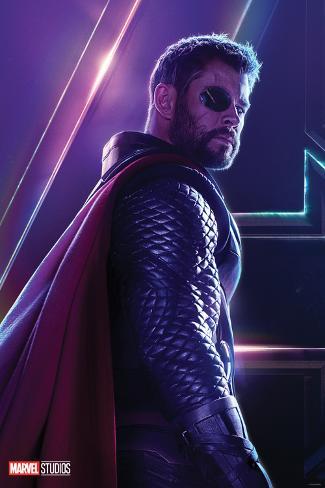 Avengers Infinity War Thor Prints At Allposters Com