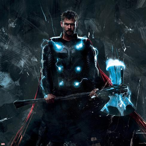 Avengers Infinity War Thor And Stormbreaker Prints At Allposters Com