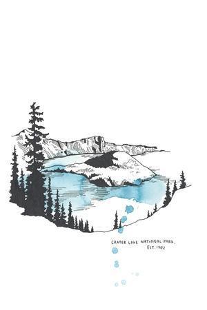 Nation Park Crater Lake