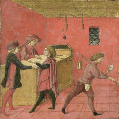 Payment of Salaries to the Night Watchmen in the Camera del Comune of Siena,1440-60