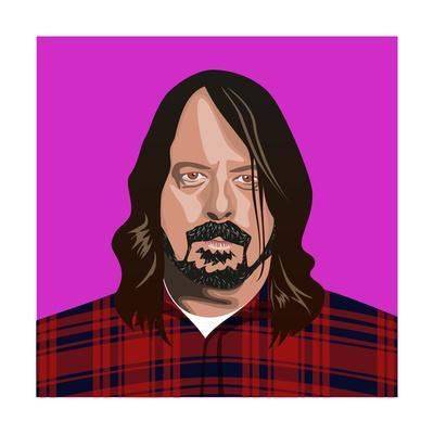 Portait of Dave Grohl