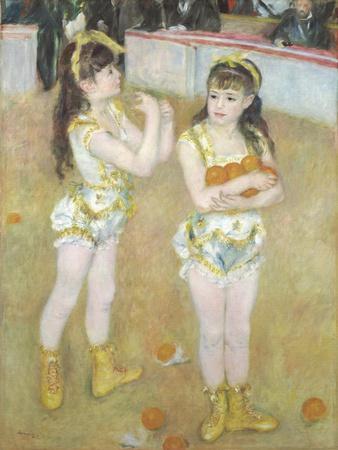 Acrobats at the Cirque Fernando, Francisca and Angelina Wartenberg, 1879