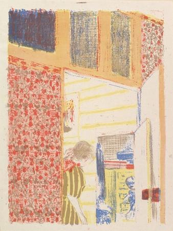 Interior with Pink Wallpaper III, from the series Landscapes and Interiors, 1899