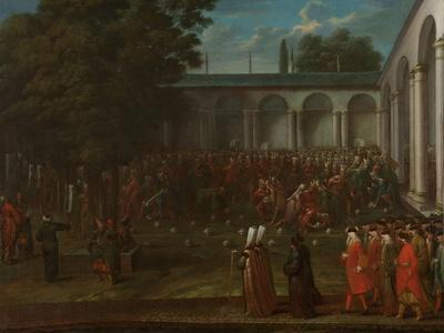 Cornelis Calkoen on his Way to his Audience with Sultan Ahmed III, c.1727-30
