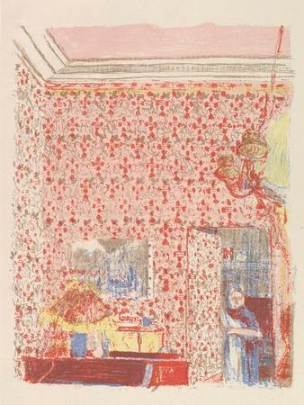 Interior with Pink Wallpaper I, from the series Paysages et Intérieurs, 1899