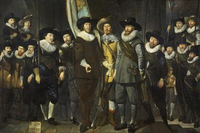 Civic Guard of the III District of Amsterdam, under the Command of  Cloeck and Rotgans