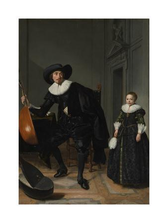 A Musician and his Daughter, 1629