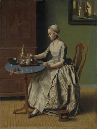 A Dutch Girl at Breakfast, c.1756