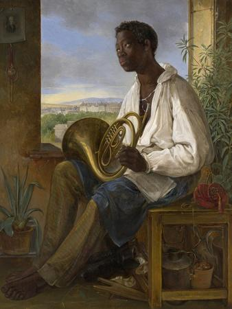Portrait of a Gardener and Horn Player in the Household of the Emperor Francis I, 1836