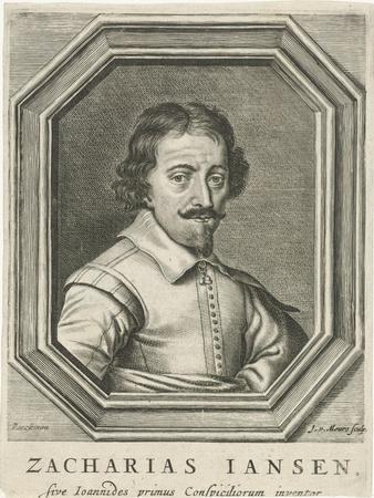 Portrait of Zacharias Jansen, 1655
