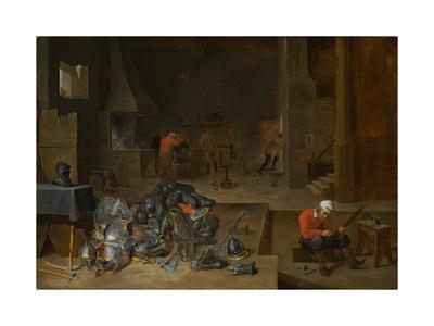 The Armorer's Shop, c.1640-1645