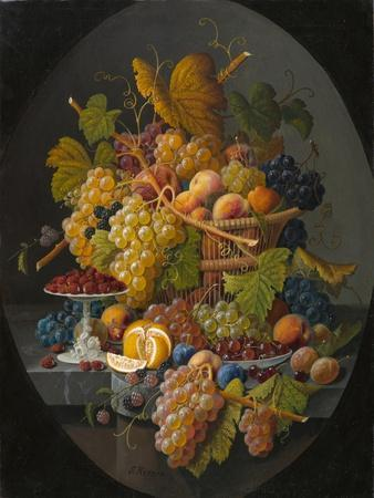 Still Life with Fruit, c.1855-1860