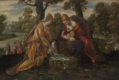 The Finding of Moses, c.1555-75