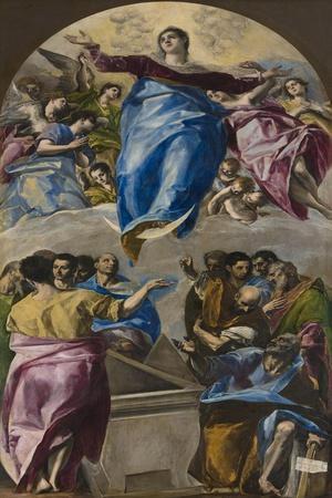 The Assumption of the Virgin, 1577-79