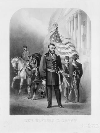 General Ulysses S. Grant at the U.S. Capitol, 1868