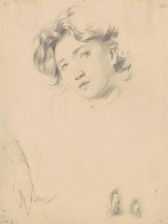Study for the Head of a Girl, c.1900