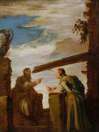 The Parable of the Mote and the Beam, c.1619