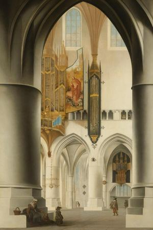 Interior of the Church of St Bavo in Haarlem, 1636