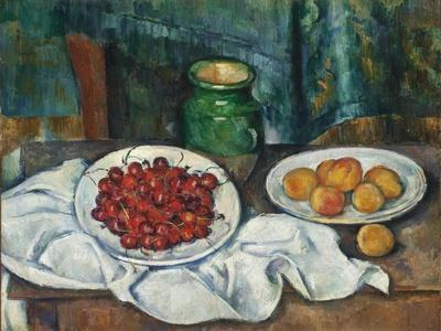 Still Life with Cherries and Peaches, 1885-7