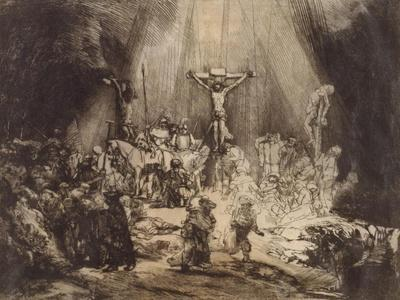 Christ Crucified between the Two Thieves: The Three Crosses, 1653