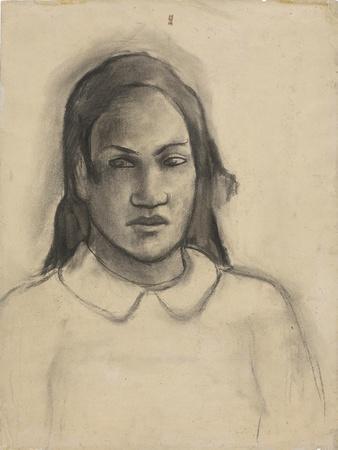Portrait of Tehamana, 1891-93