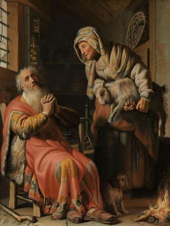 Tobit and Anna with the Kid, 1626
