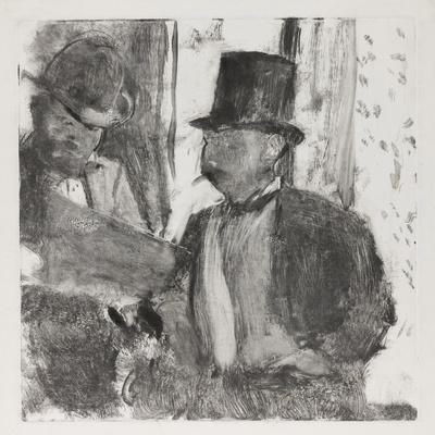 The Two Connoisseurs, c.1880